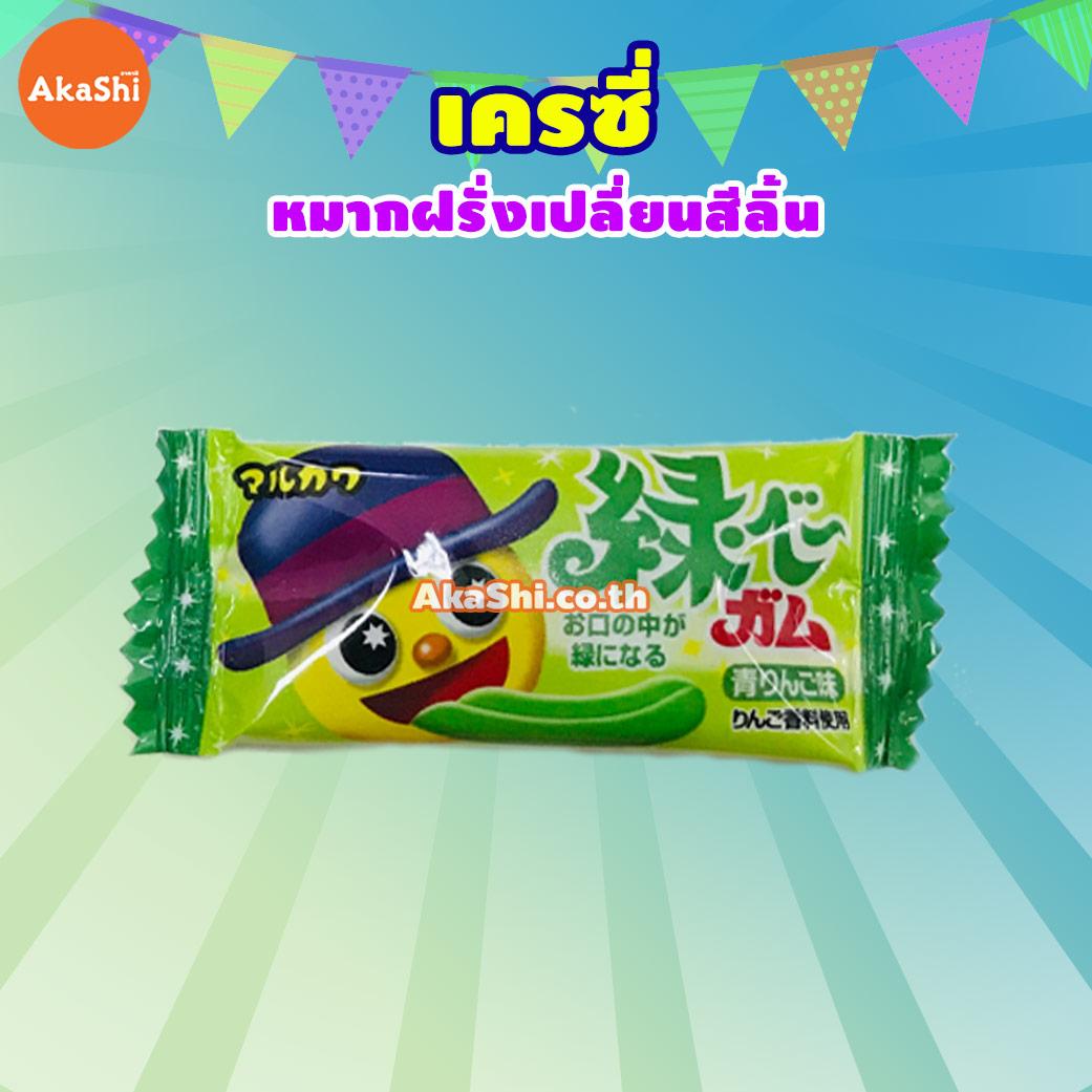 Marukawa Chewing Gum - หมากฝรั่งเปลี่ยนสีลิ้น
