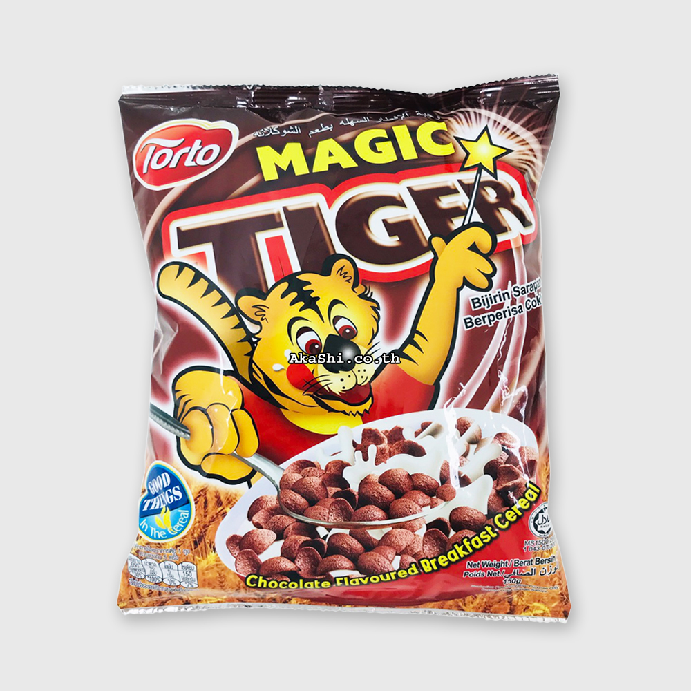 Torto Magic Tiger 150 g. - ซีเรียล ช็อกโกแลต 150 กรัม