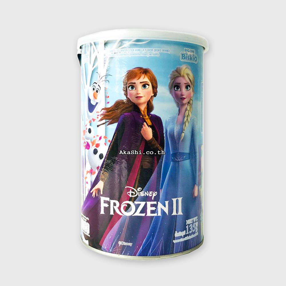 Biskio Camelo Vanilla Frozen - ขนมเวเฟอร์ สอดไส้ครีมวานิลลา
